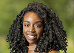 Head shot of Harrow branch Marketing & Campaigns Specialist Faith Mafullul