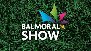 Balmoral Show Logo on Grass Background