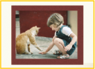 Picture of Girl & Cat