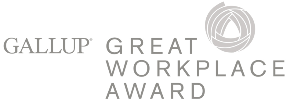 Gallup Great Workplace Award logo