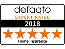 Defaqto 5 Star Home Insurance award logo