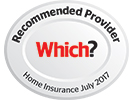 Which? Recommended Provider Home Insurance January 2017