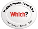 Which? Recommend Provider for Home Insurance - September 2018