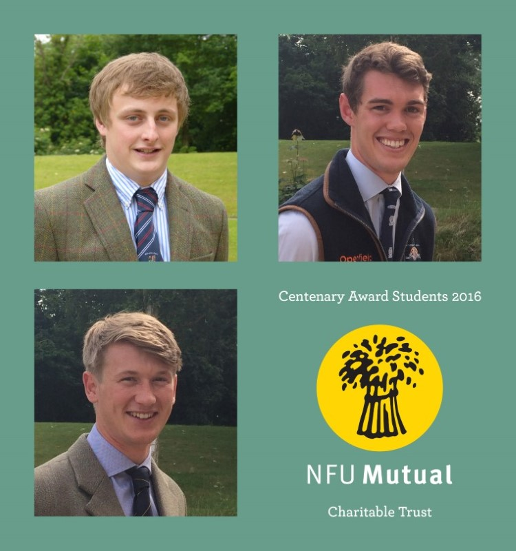 Collage of NFU Mutual Chartiable Trust Centenary Award 2016 winners